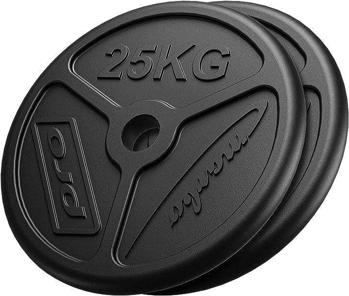 Pesi in ghisa olimpic ø50 / 51 mm | impostare le opzioni 30 kg / 50 kg / 60 kg | made in eu