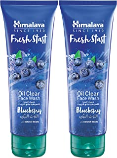 Himalaya Fresh Start Oil Clear Blueberry Face Wash Energized with Blueberry, It Removes Excess Oil and Impurities from the...