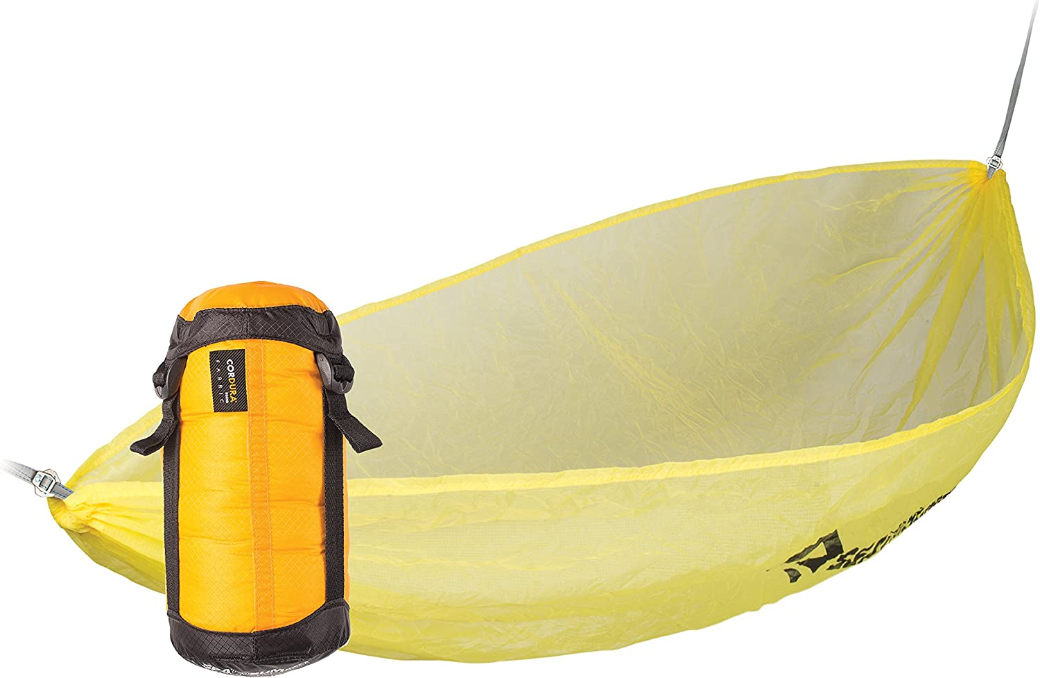 For Travel /& Camping Sea to Summit Ultralight Hammock Single Yellow Lightweight /& Compact