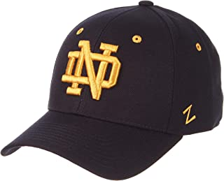 CampusHats University of Notre Dame ND Fighting Irish Navy Blue DH Top Adult Mens Baseball Hat/Cap