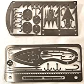 2 Pack Kuvik Compact Survival Toolkit Card