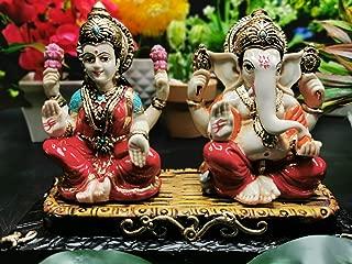 Lakshmi Ganesh Statue - Laxmi Ganesha Idol | Figurines | Diwali Gift Ideas