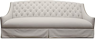Amazon.com: Iconic Home Natasha Club Sofa Button Tufted ...