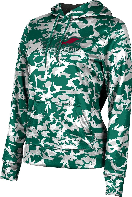 University of Wisconsin Green Bay Girls' Pullover Hoodie, School Spirit Sweatshirt (Camo)