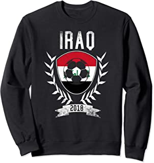 Iraqi Football 2018 Sweatshirt Iraq Soccer Jersey