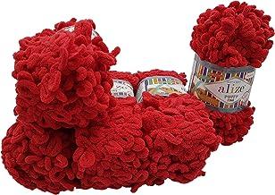 Alize Puffy Fine Ombre Strickwolle Fingerstrick Wolle mit Farbverlauf 500g