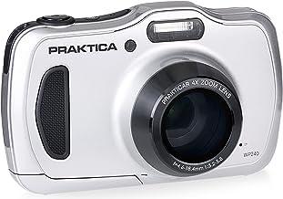 Praktica Luxmedia WP240 Waterproof Digital Compact Camera - Silver (20MP, 4x Optical Zoom)