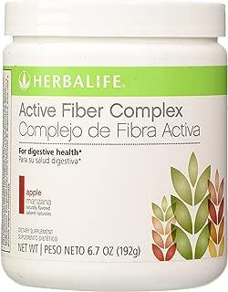 HERBALIFE ACTIVE FIBER COMPLEX APPLE FLAVOR 6.7 OZ