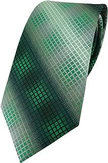Designer Krawatte in kariert gemustert - Krawattenbreite 8 cm
