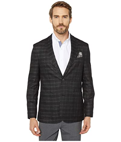 Vince Camuto Check Performance Blazer (Charcaol) Men