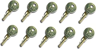 Automotive Authority LLC EZGO Gas & Electric Golf Cart Replacement Ignition Keys (1982-Up) 17063-G1