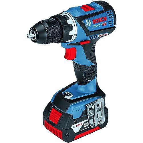Bosch Professional 06019G1103GSR 18V-60C (bare, L-BOXX) [prête à l'emploi] [Click & Go], bleu