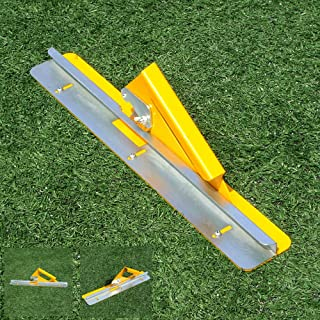 AllTop Turf Artificial Grass Installation Tool Grass Cutter with 10 Pieces of Cutting Blades