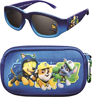 Paw Patrol Kids Sunglasses with Glasses Case and UV...