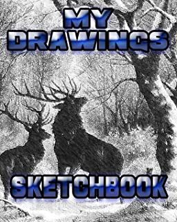 My Drawings Sketchbook: Drawing Sketchpad and Journal, 8x10 Diary, Drawing Notebook, Art Student Gift (School Notebooks)