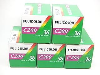 Fuji, C200, 35 mm, 36 opnames, 5 stuks