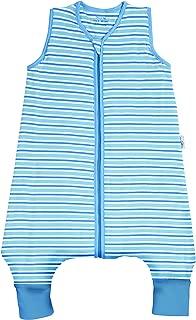 SlumberSafe Summer Sleeping Bag with Feet Early Walker 0.5 Tog, Blue Stripes, 24-36 Months/39 inch