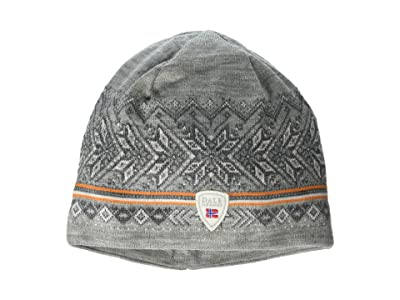 Dale of Norway Hovden Hat (Light Charcoal/Off-White/Smoke/Orange Peel) Beanies