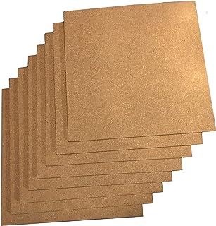 "Sponsored Ad - Premium Cork Tiles 12""x12"" - 8 Pack - Bulletin Board - Mini Wall - 1/4"" Thick Cork Board - 72 Self Adhesive..."