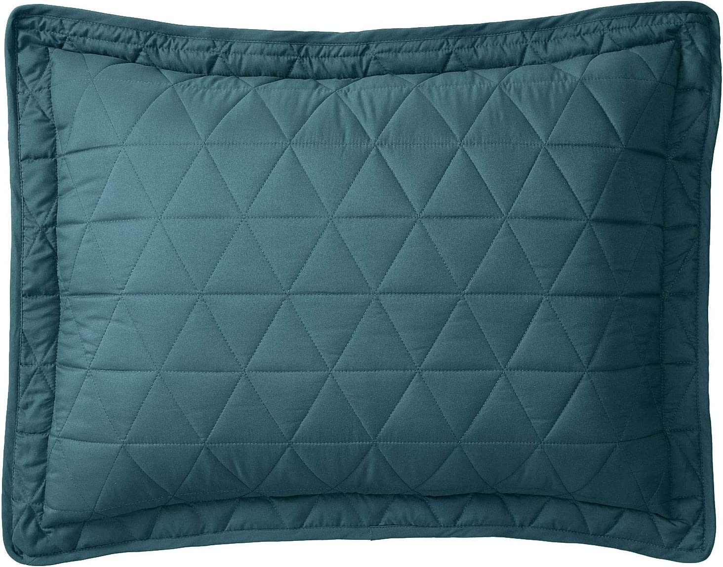 BrylaneHome Shams - Chicago Cash special price Mall King Turquoise 2 Pack Peacock