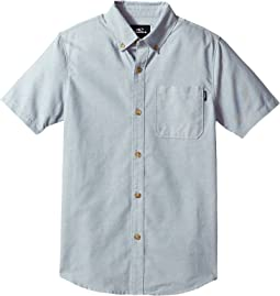 O'Neill Kids - Banks Short Sleeve Woven Top (Big Kids)