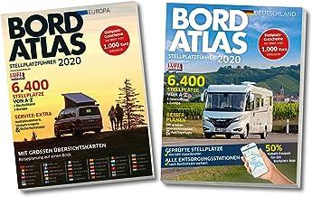 Bordatlas Stellplatzführer 2020: Band 1: Stellplatzführer Deutschland / Band 2: Stellplatzführer Europa