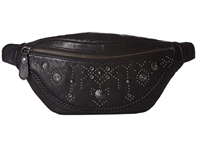 Frye Concho Hip Pack (Black) Handbags