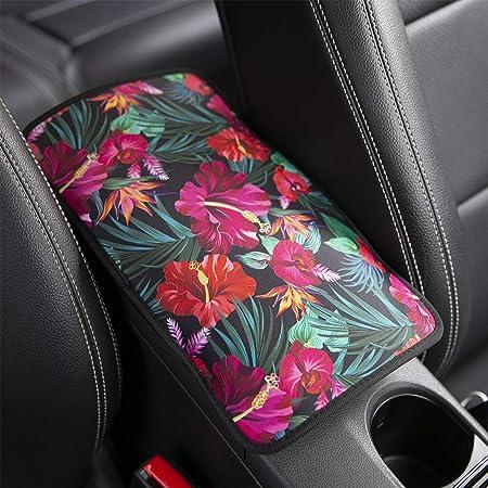2 Pcs Vehicle Center Console Armrest Cover Pads Various Patterns Design Car Armrest Cover Universal Fit Comfort Center Console Armrest Cushion for Car