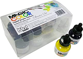 Magic Color Introductory Set 8 Bottles (28ml) Of Liquid Acrylic Colour