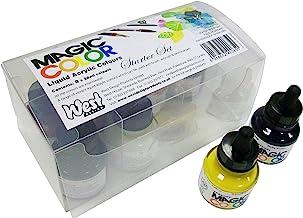 Magic Color Introductory Set 8 Bottles (28ml) of liquid acrylic colour