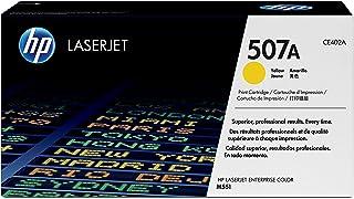 خرطوشة مسحوق الحبر الأصفر HP 507A لطابعات LaserJet الأصلية [ CE402A ]