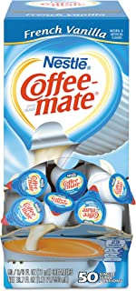 Coffee-mate 35170BX French Vanilla Creamer, 0.375oz (Box of 50)