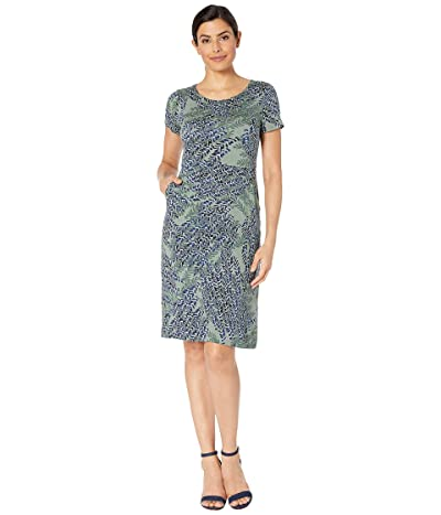 NIC+ZOE Leaf Direction Dress (Multi) Women