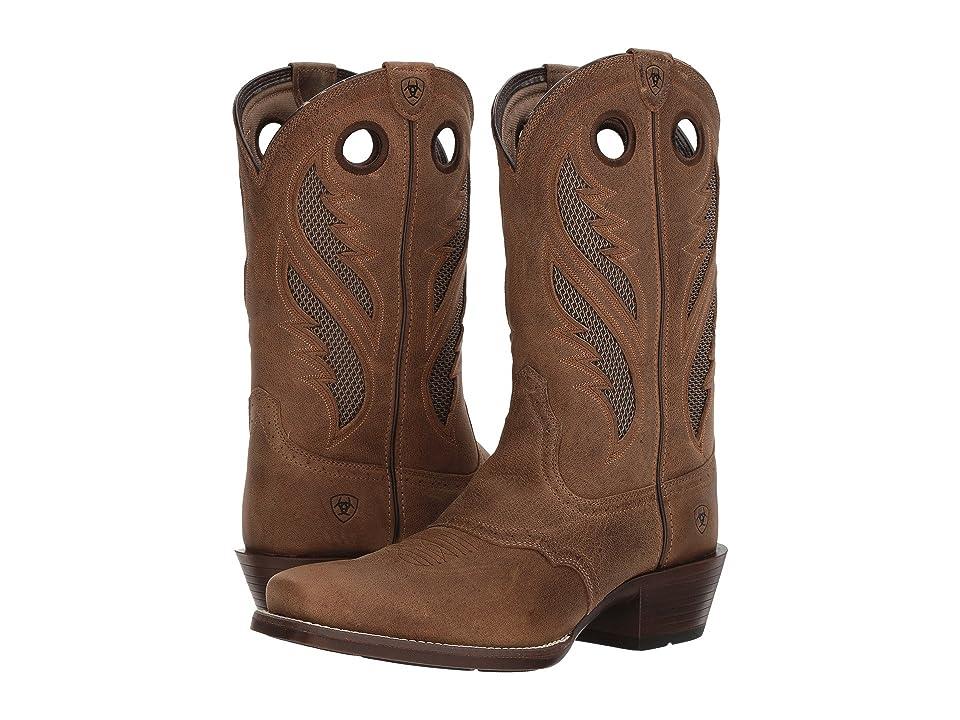 Ariat Venttek Narrow Square Toe Ultra (Antique Brown) Cowboy Boots