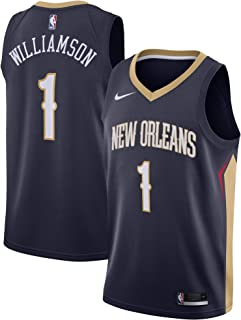 Nike Zion Williamson New Orleans Pelicans NBA Boys Youth 8-20 Navy Icon Edition Swingman Jersey