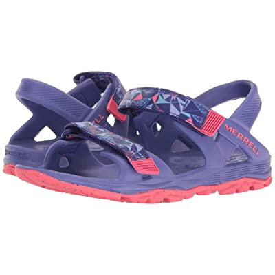Merrell Kids Hydro Drift (Toddler/Little Kid/Big Kid) (Purple/Coral) Girls Shoes