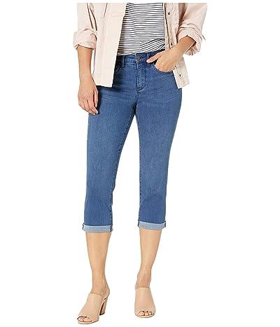NYDJ Petite Petite Chloe Capri Jeans in Market (Market) Women