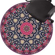 Office Chair pad Low Pile Carpet Non Slip Chair Mat Silent Floor Protector Mat for Wooden Floors Ceramic Tile Laminate(Siz...