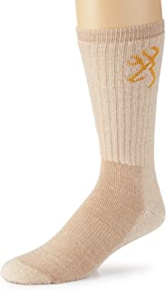 Browning Hosiery Men's Everyday Wool Blend Socks-Pack of 2
