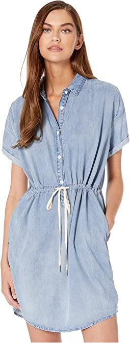 Drawstring Chambray Dress in Pretty Woman