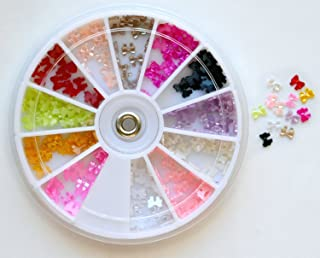 Bow Bows Pearl Nail Art Stone Wheel Rhinestones Beads and more design
