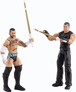 WWE Battle Pack CM Punk vs. Vince McMahon Action Figure, 2-Pack