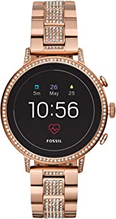 Fossil Gen 4 Smartwatch Venture HR Rose Gold Tone Stainless Stainless Steel - FTW6011