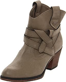 Women's Sayla Vintage Worn PU Western Boot