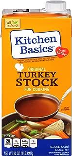 Kitchen Basics Original Turkey Stock, 32 oz (Pack of 12)