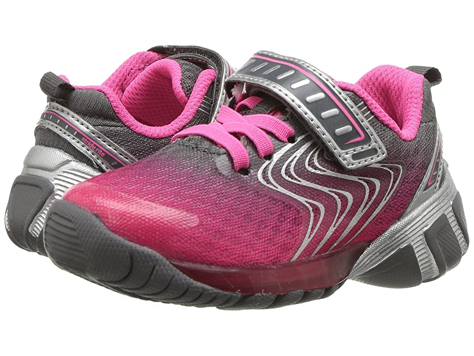 Stride Rite SR-Lights Lux (Toddler/Little Kid) (Pink) Girls Shoes