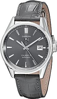 TAG Heuer Men's WAR211C.FC6336 Carrera Calibre Watch with Black Band