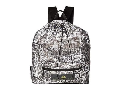 adidas by Stella McCartney Digital Print Gymsack FJ9331 (Black/White/Frozen Yellow) Backpack Bags