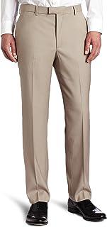 Perry Ellis Men's Big & Tall Portfolio Flat-Front Bengaline Pant