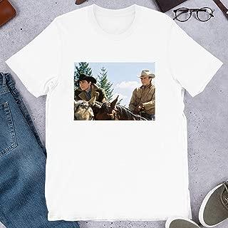 Jake Gyllenhaal Heath Ledger Brokeback Mountain Hollywood Cinema Film Gift Men Women Unisex T-Shirt